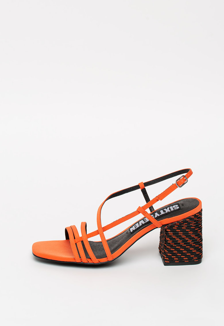 Sandale de panza cu toc masiv sixtyseven imagine 2021