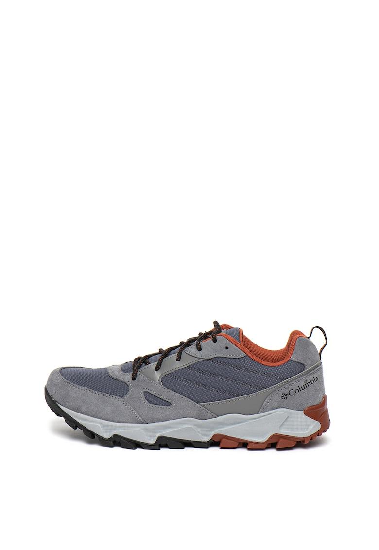 Pantofi cu garnituri din piele intoarsa - pentru drumetii IVO TRAIL™