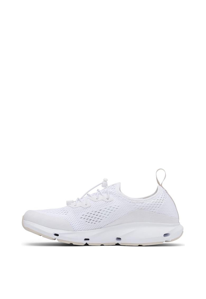 Pantofi sport de plasa cu insertii de piele intoarsa ecologica Vent™
