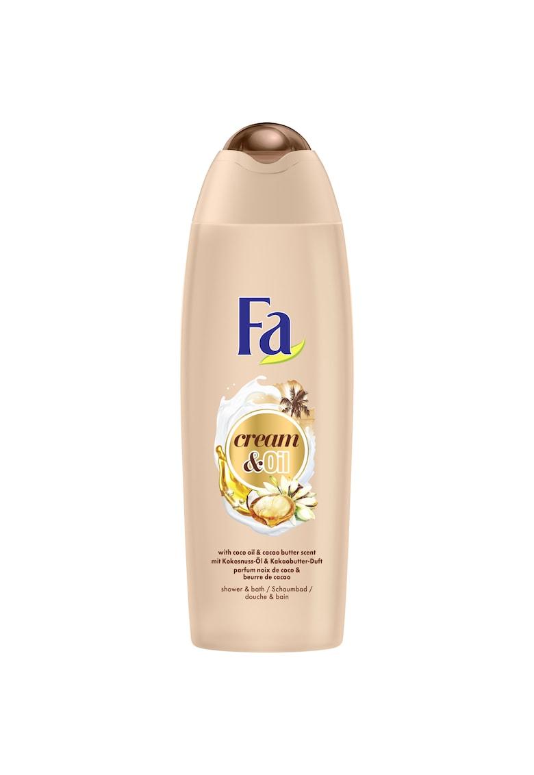 Spuma de baie si dus  Cream & Oil Cacao - 750 ml