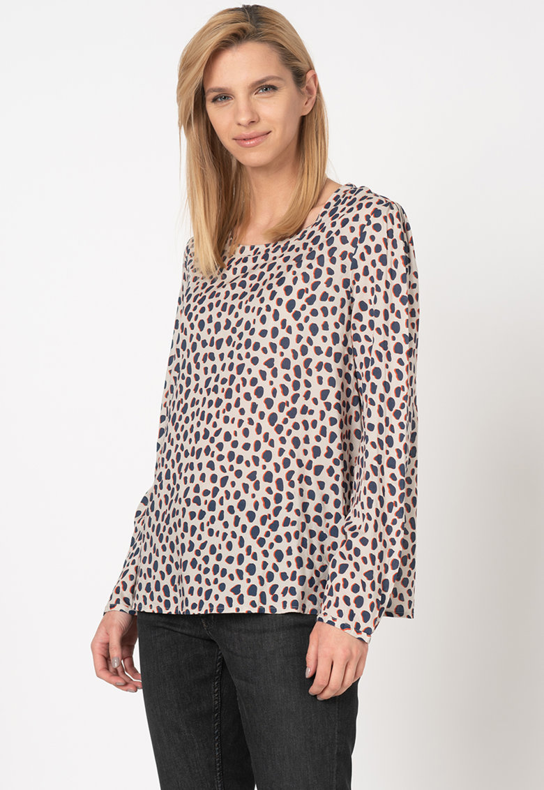 Bluza din modal cu animal print Emma