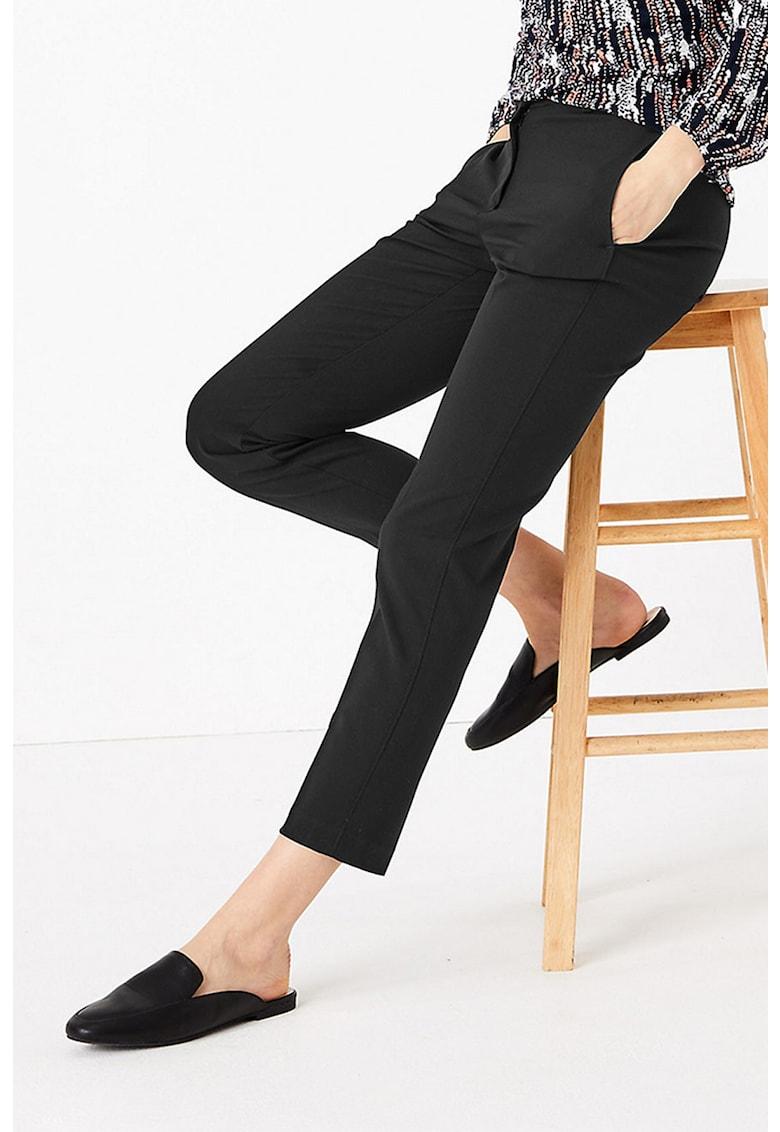 Pantaloni crop slim fit