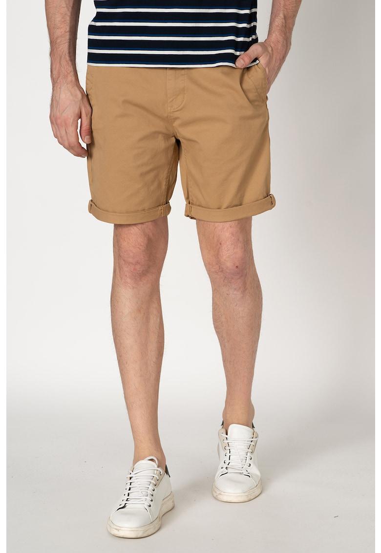 Pantaloni chino scurti cu terminatii pliabile imagine