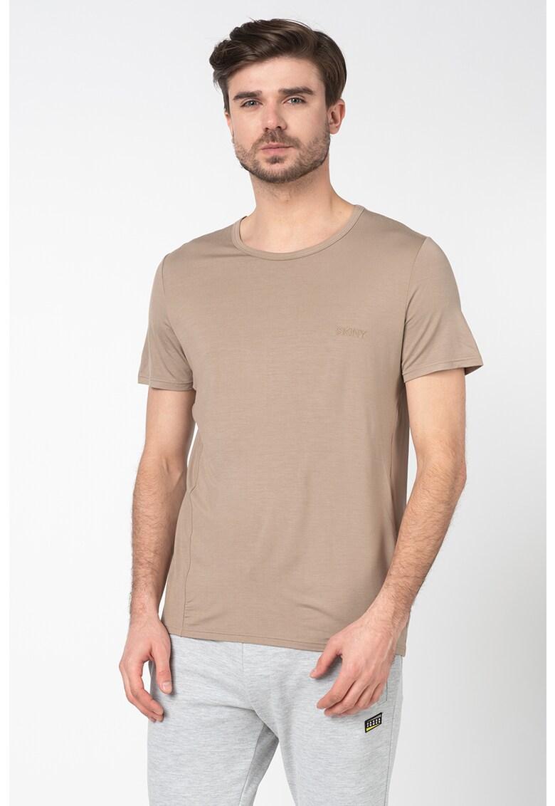 Tricou de casa cu broderie logo imagine