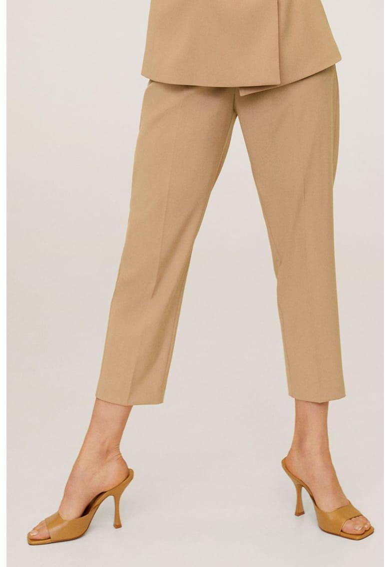 Pantaloni crop drepti