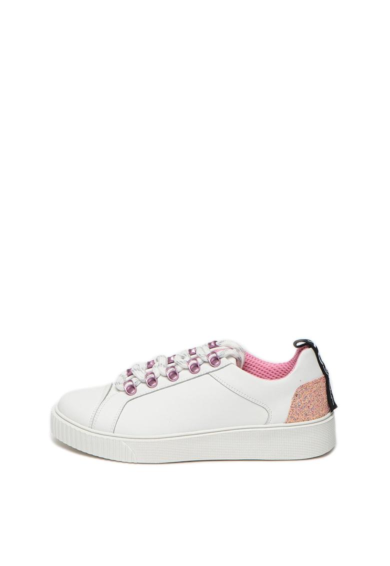 Pantofi sport cu garnituri de piele Camelia