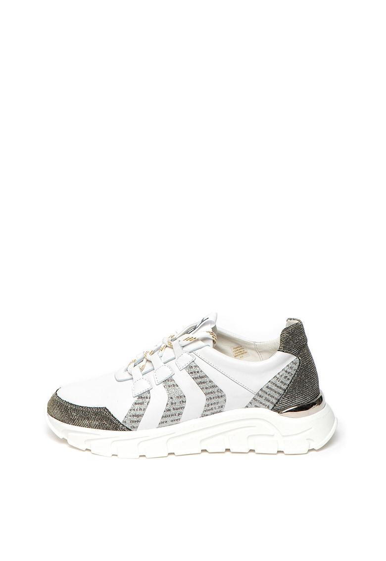 Pantofi sport cu insertii de piele Santorini