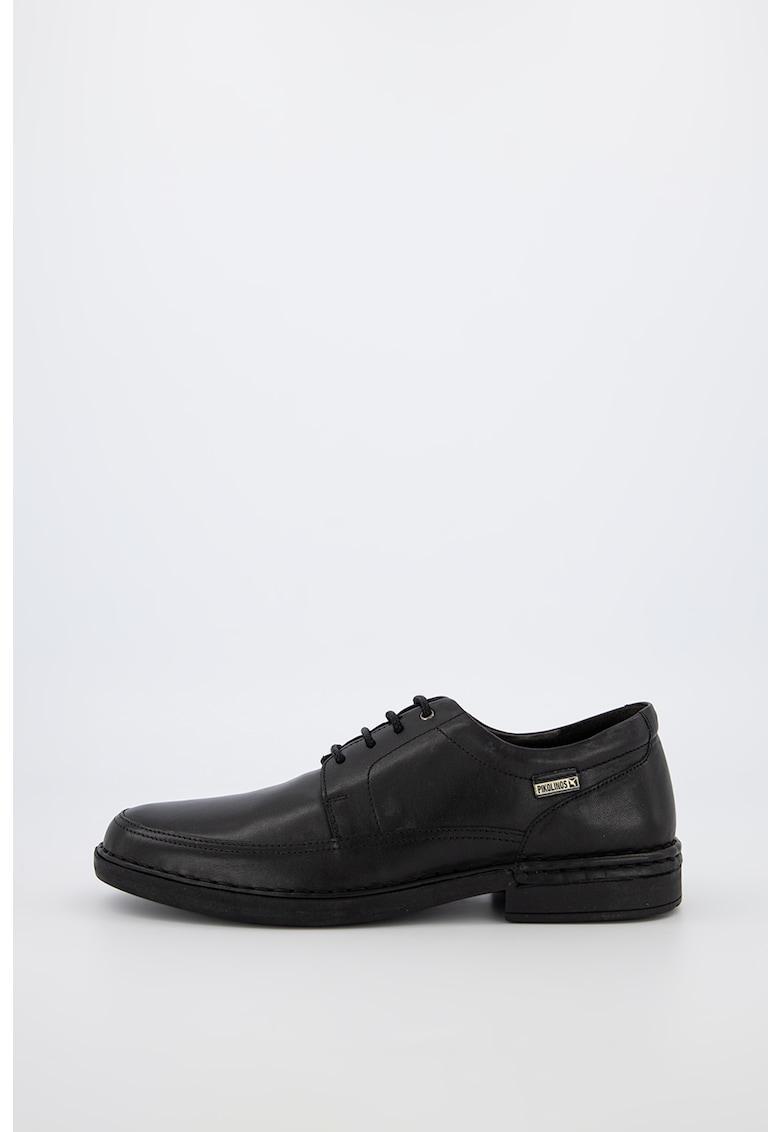 Pantofi derby de piele Bermeo imagine