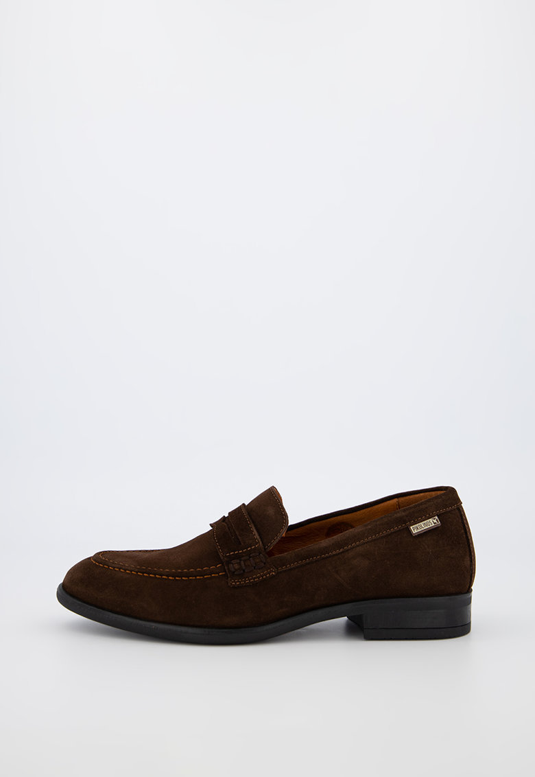 Pantofi loafer penny de piele intoarsa Bristol imagine fashiondays.ro 2021