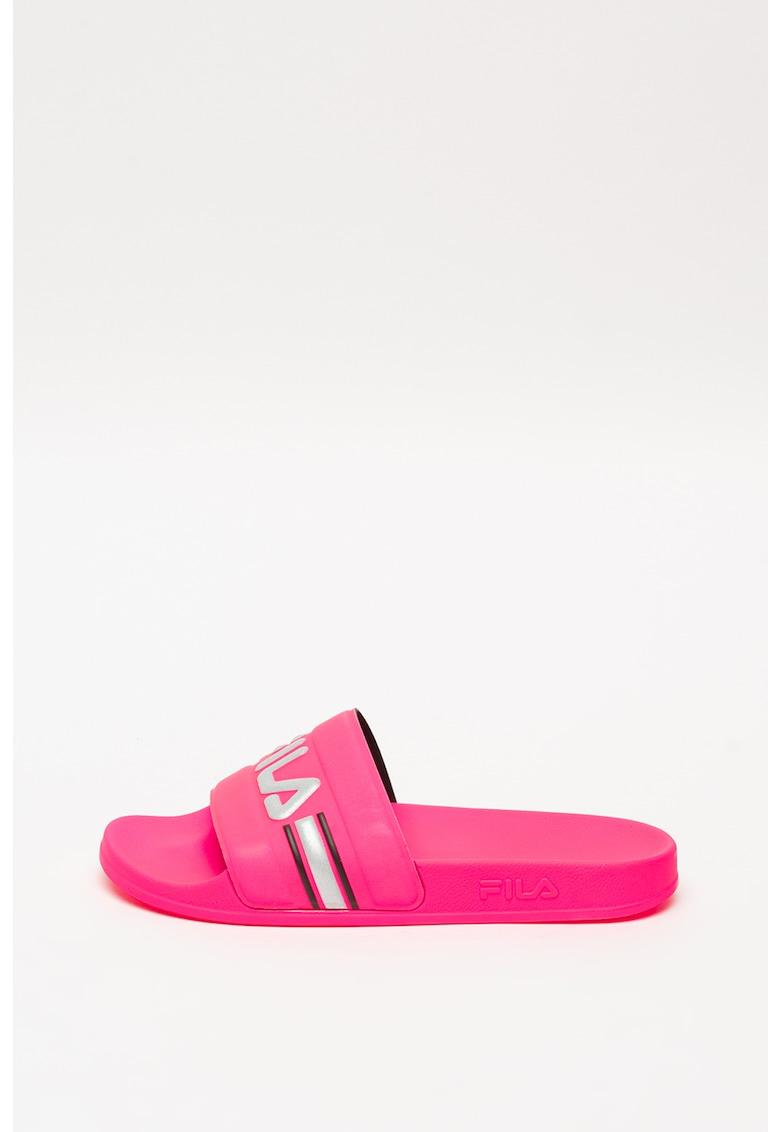 Papuci cu logo reflectorizant Oceano poza fashiondays