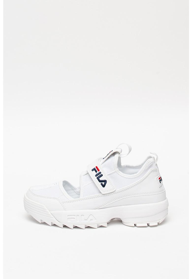 Pantofi sport din tricot fin cu insertii de piele intoarsa Hovr Slk Evo 2
