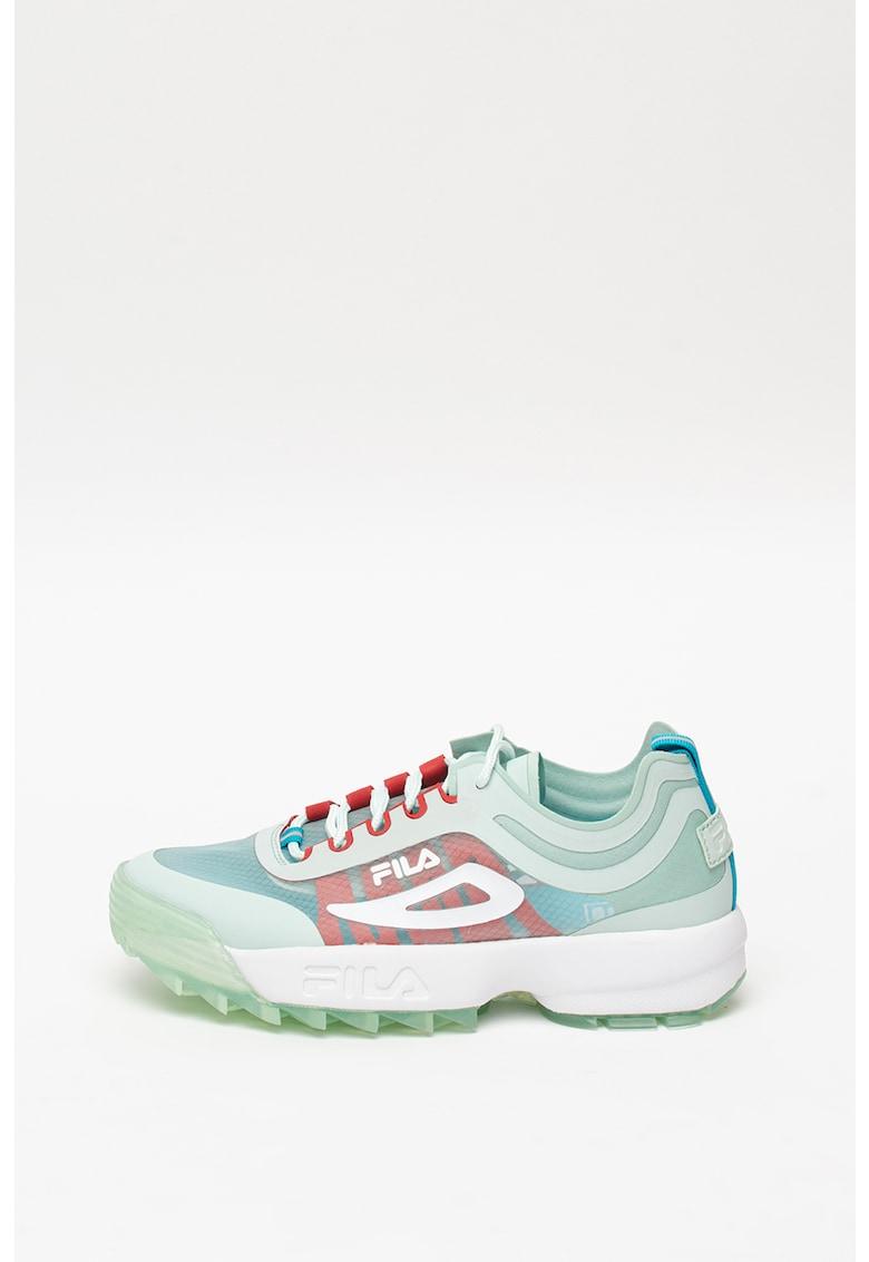 Pantofi sport cu model colorblock Disruptor Run 1