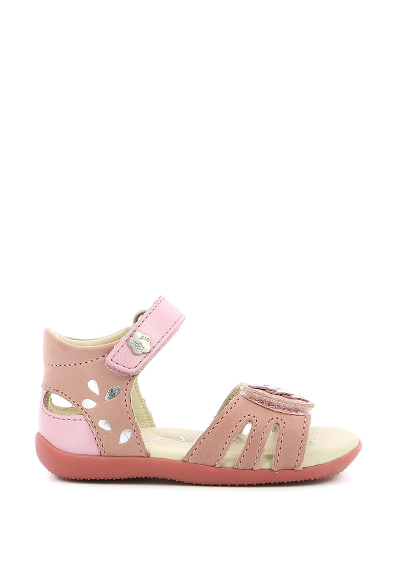 Sandale din piele cu inchidere velcro fashiondays.ro