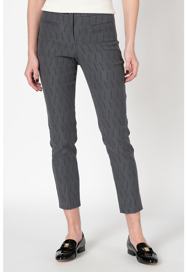 Pantaloni cu buzunare frontale cu refilat