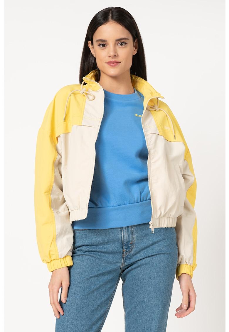 Jacheta usoara cu model tropical