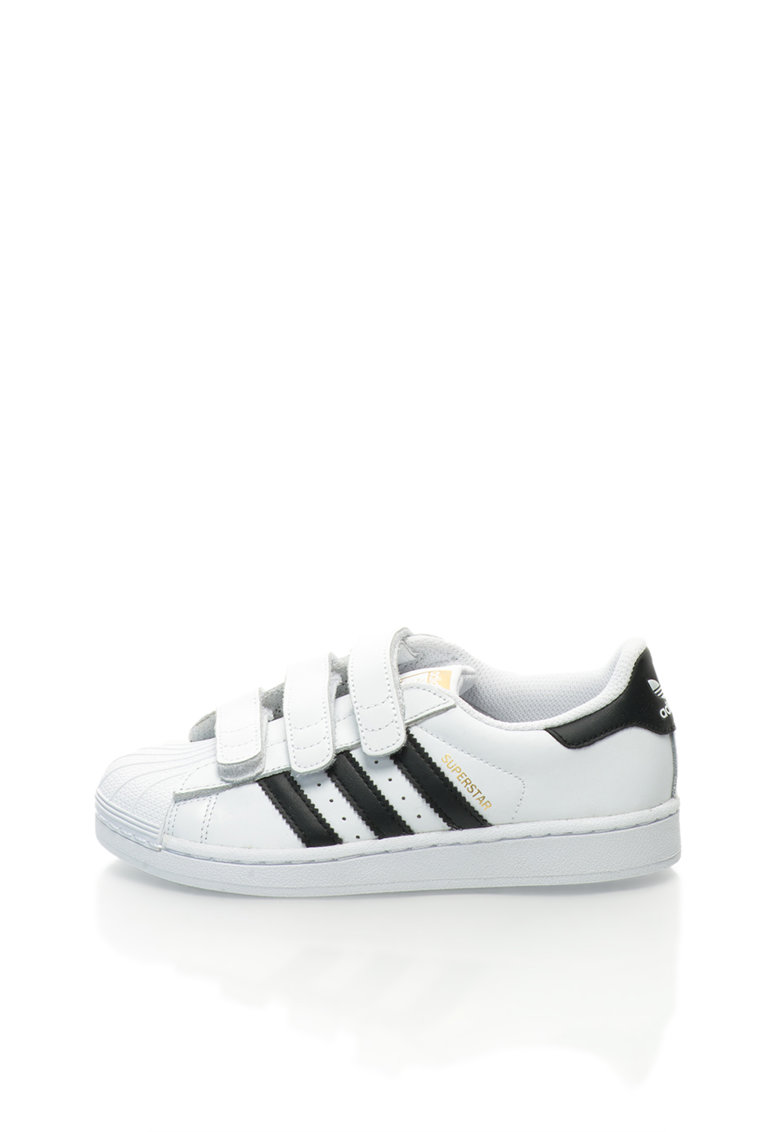 Adidas ORIGINALS Tenisi albi din piele Superstar Fondation