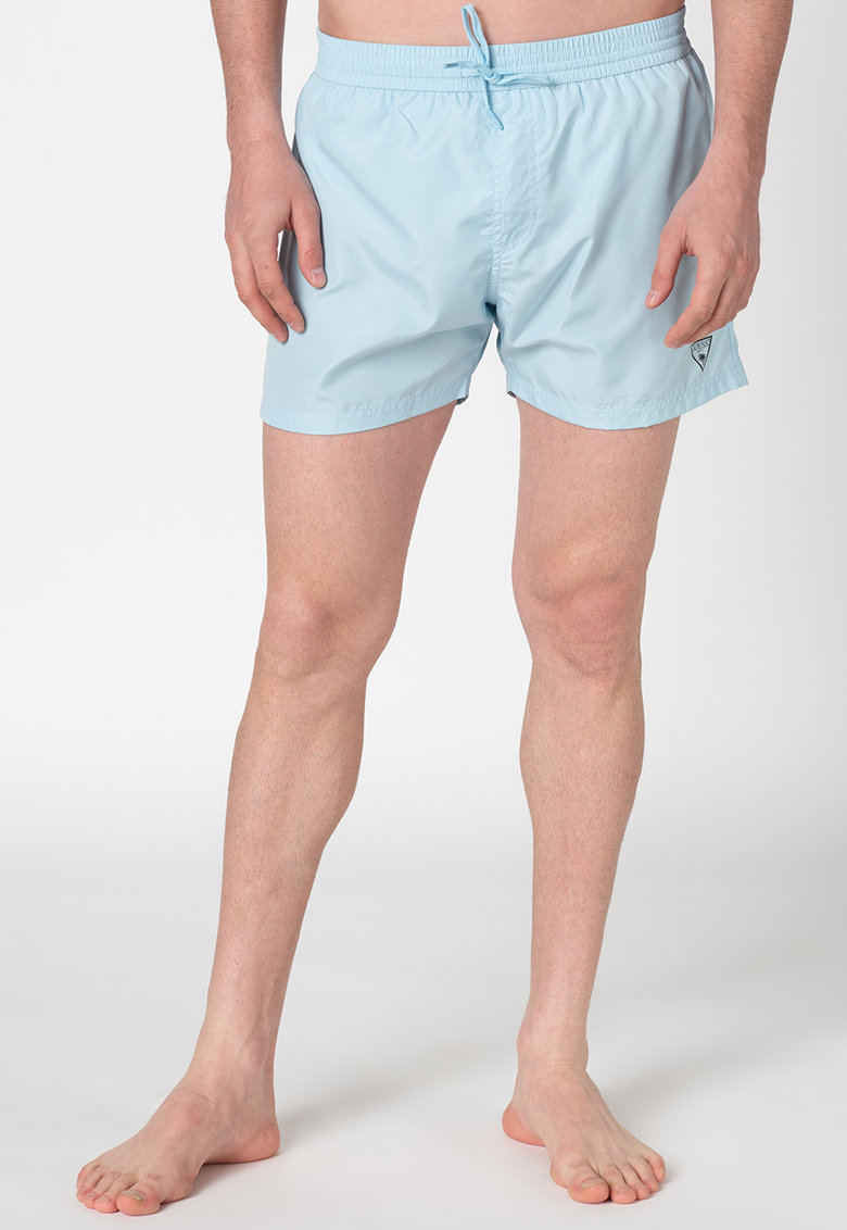 Pantaloni scurti de baie cu detaliu logo discret
