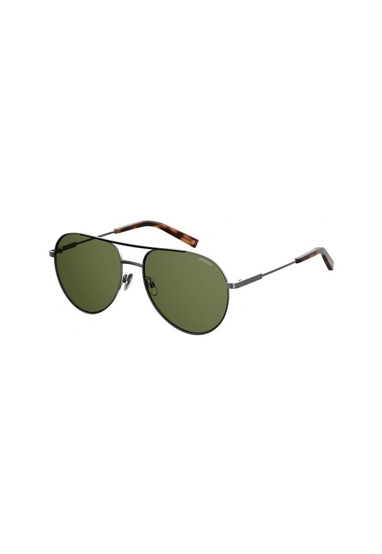 Ochelari de soare aviator unisex cu lentile polarizate