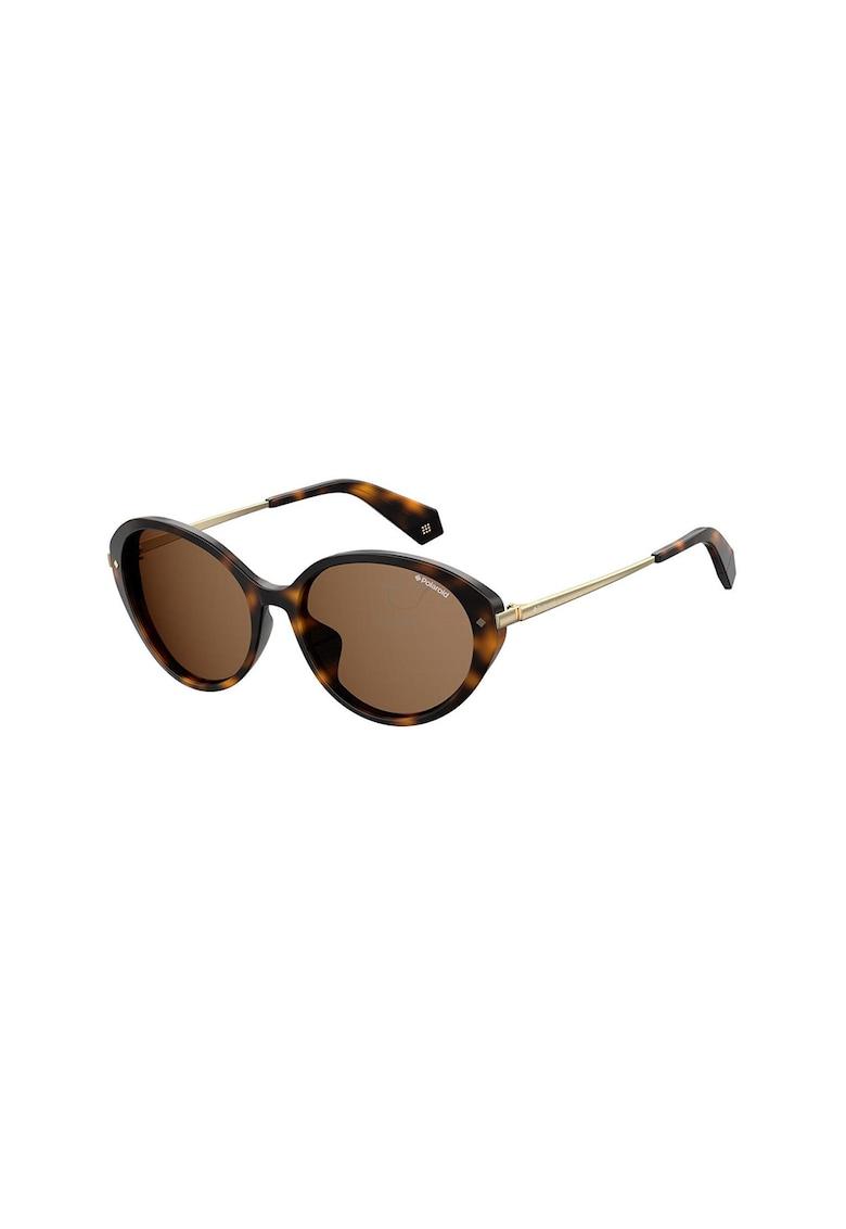 Ochelari de soare ovali cu lentile polarizate