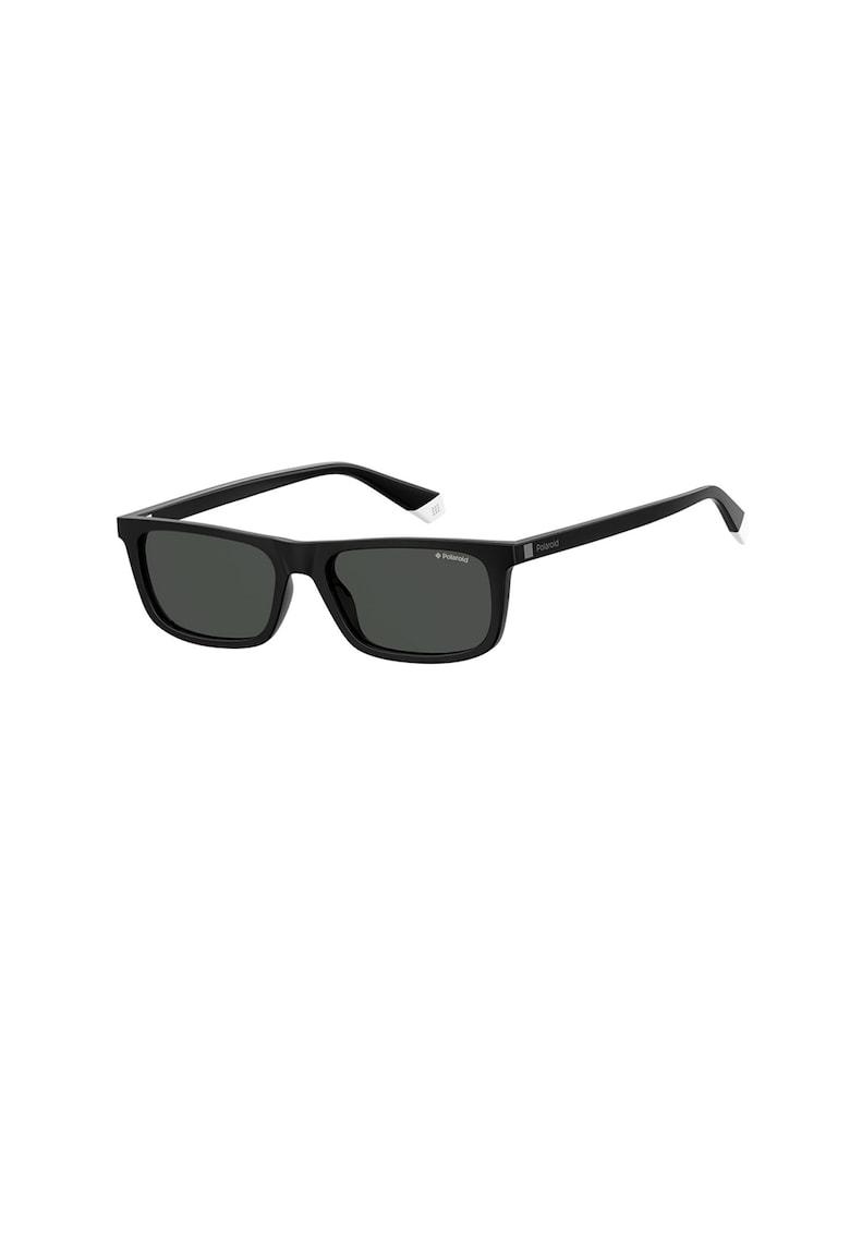 Ochelari de soare unisex dreptunghiulari cu lentile polarizate imagine