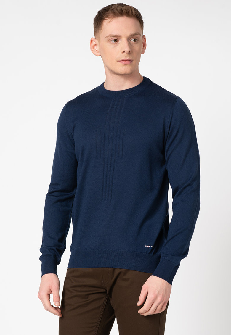 Pulover din amestec de lana Burrel