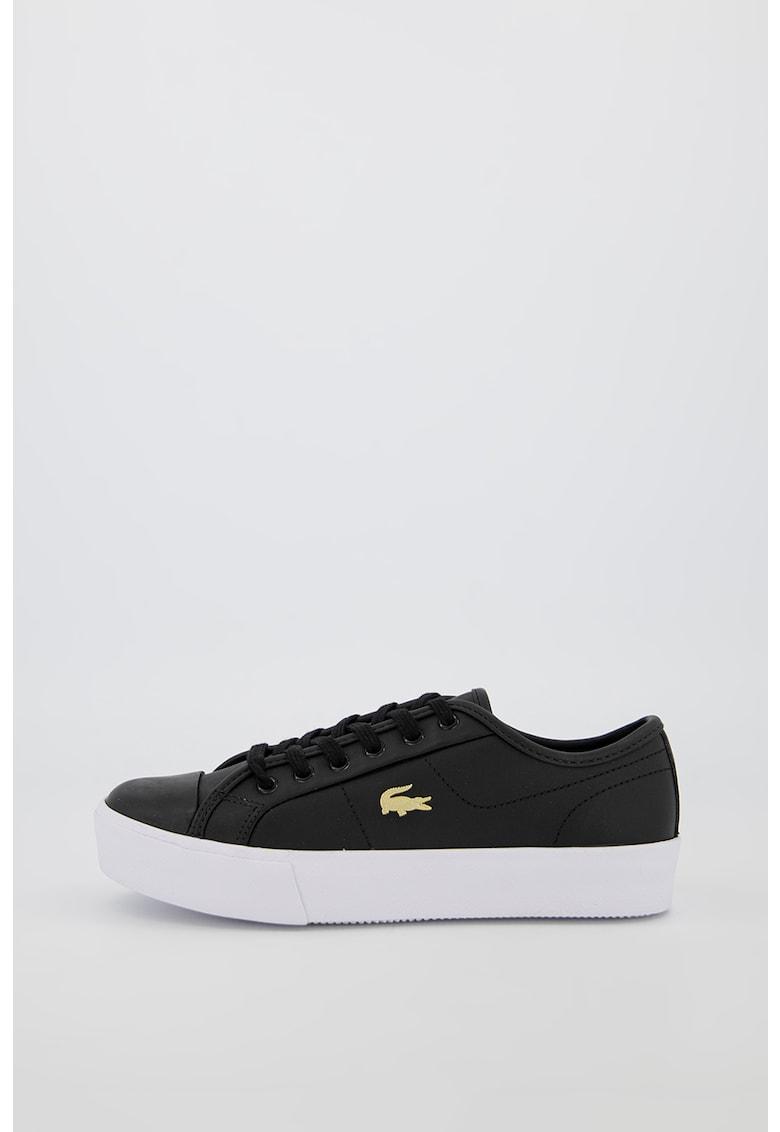 Pantofi sport din piele cu aplicatie logo metalica Ziane Plus Grand