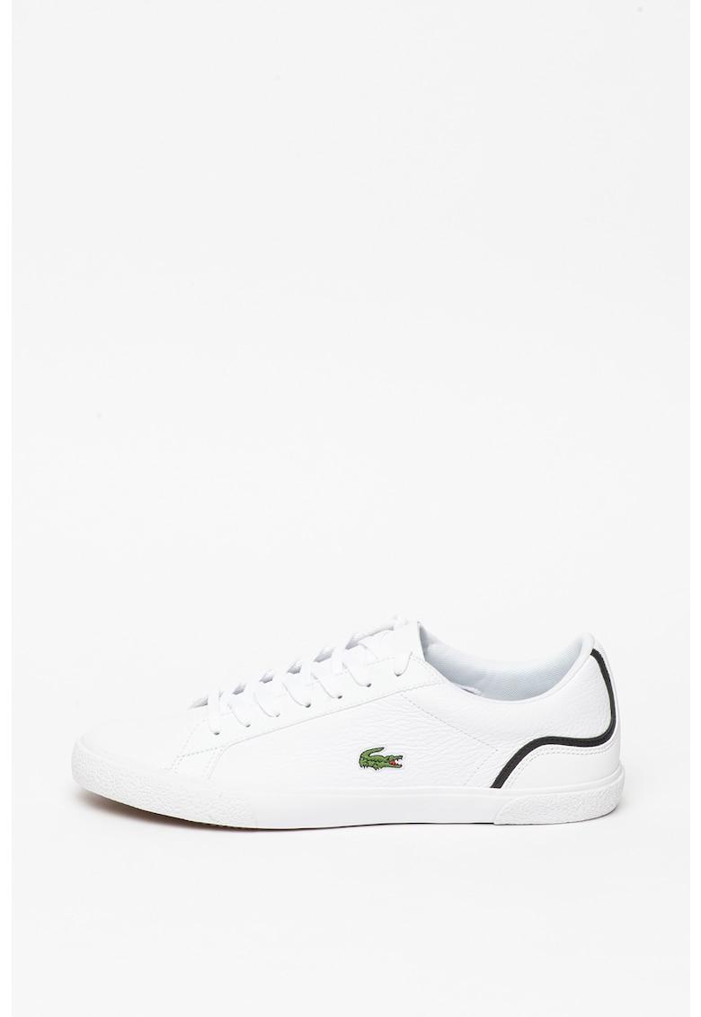 Pantofi sport de piele cu detalii contrastante Lerond imagine