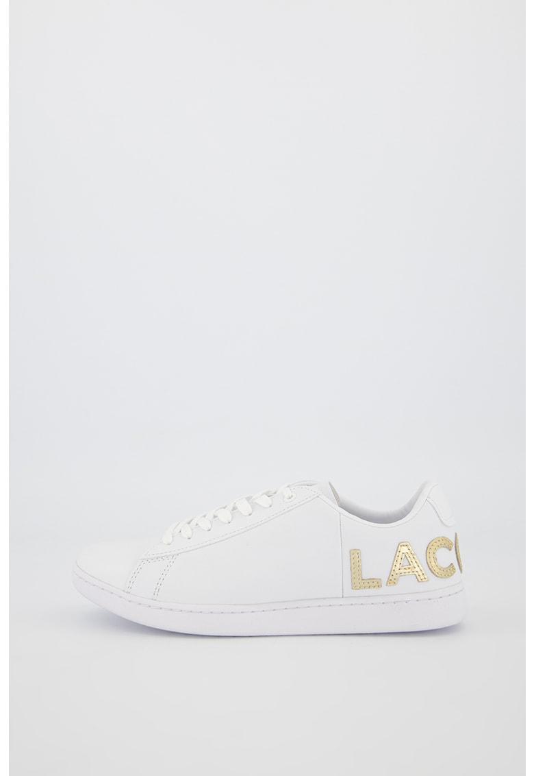 Pantofi sport din piele cu aplicatie logo Carnaby Evo