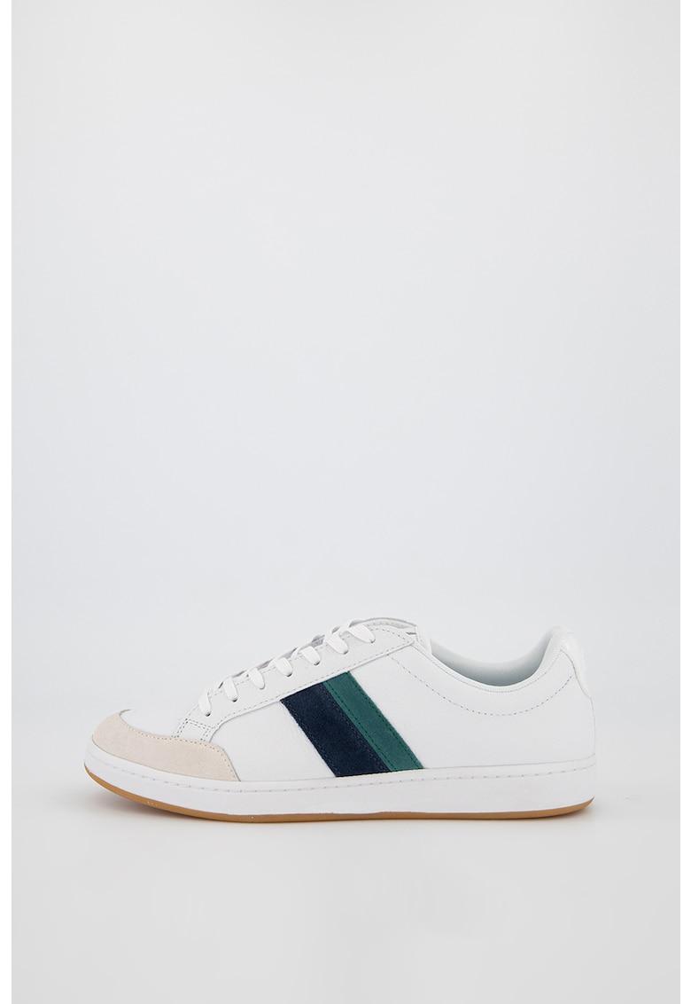 Pantofi sport de piele cu garnituri de piele intoarsa Carnaby Ace fashiondays.ro