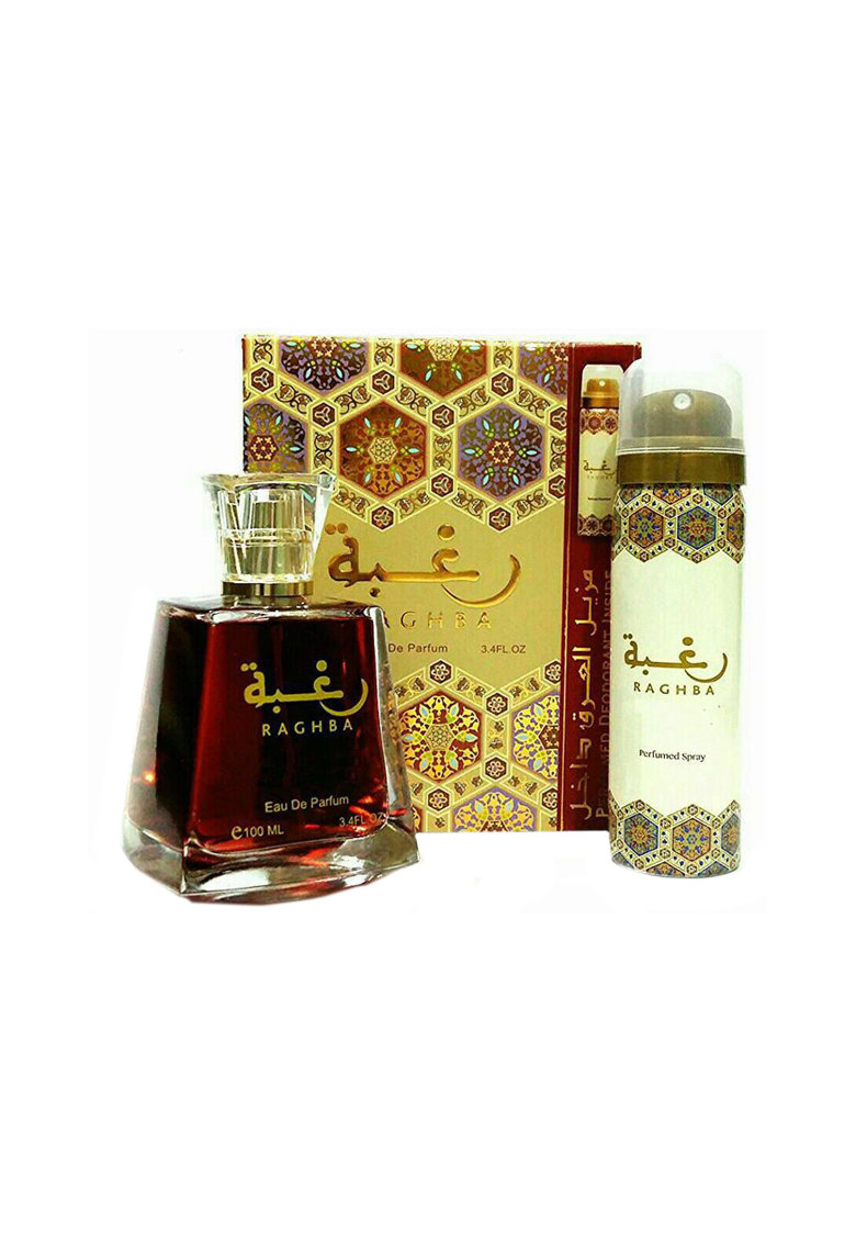 Set Raghba - Femei: Apa de Parfum - 100 ml + Deodorant Spray - 50 ml poza fashiondays