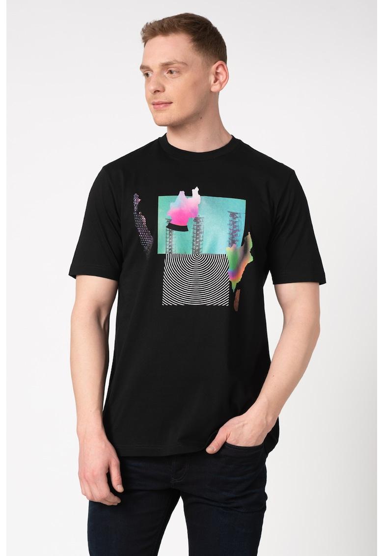 Tricou cu imprimeu grafic Just 7