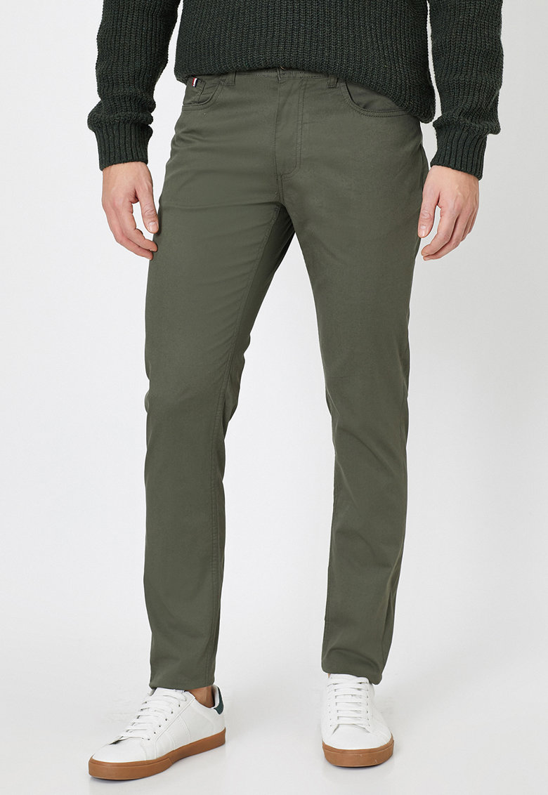 Pantaloni din amestec de bumbac
