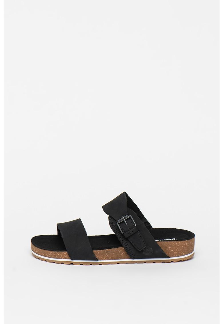 Papuci din piele nabuc