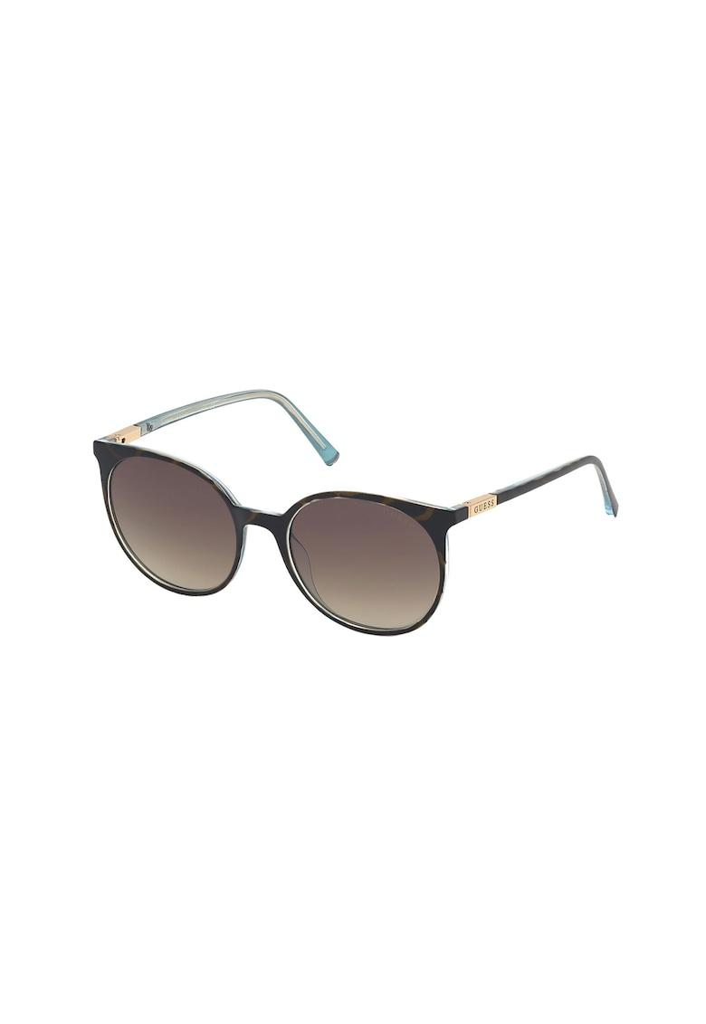 Ochelari de soare rotunzi uisex - cu lentile in degrade