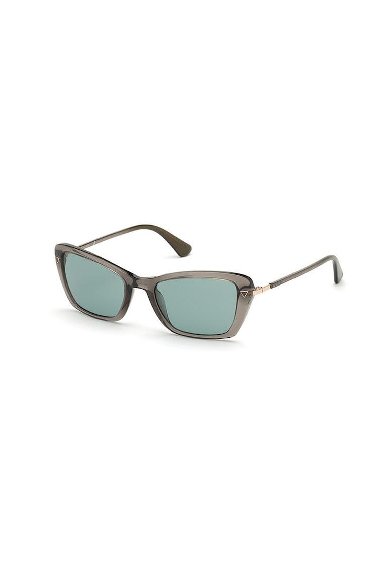 Ochelari de soare cu lentile patrate imagine fashiondays.ro
