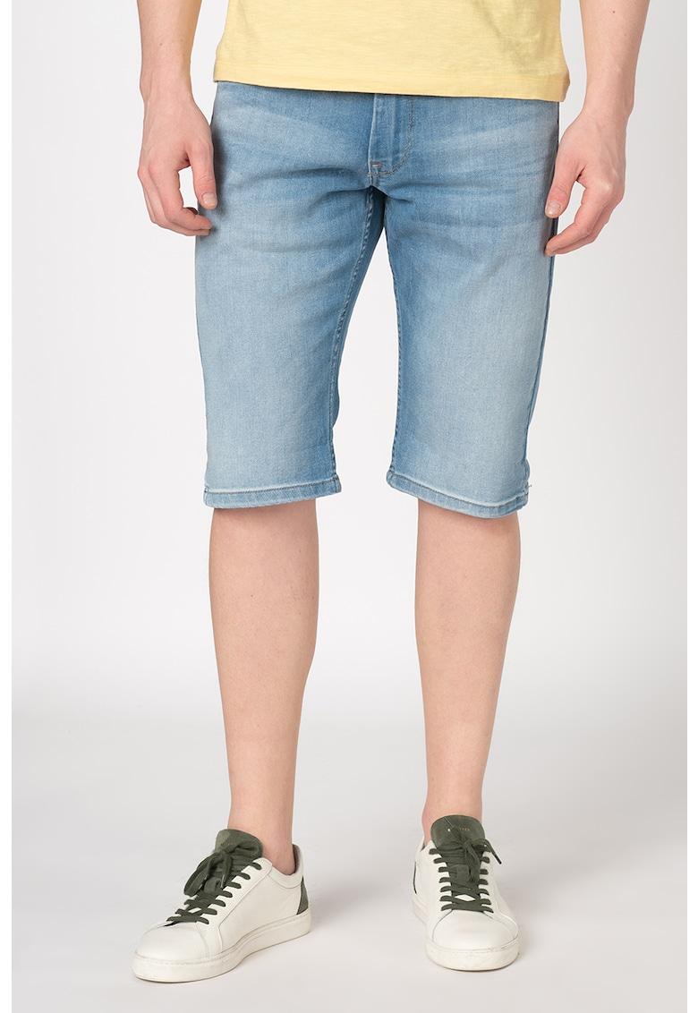 Pantaloni scurti de denim cu talie medie