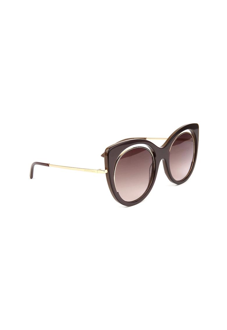 Ochelari de soare rotunzi cu lentile in degrade imagine fashiondays.ro Ana Hickmann