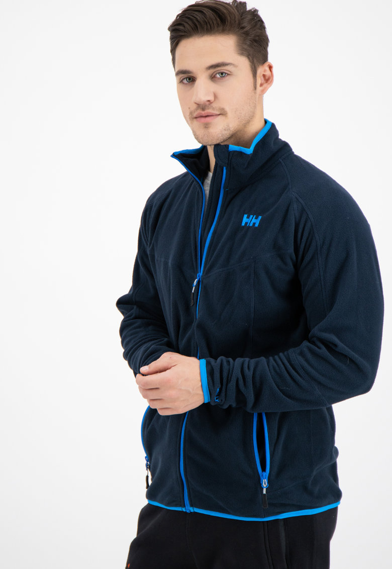 Bluza sport neagra din fleece