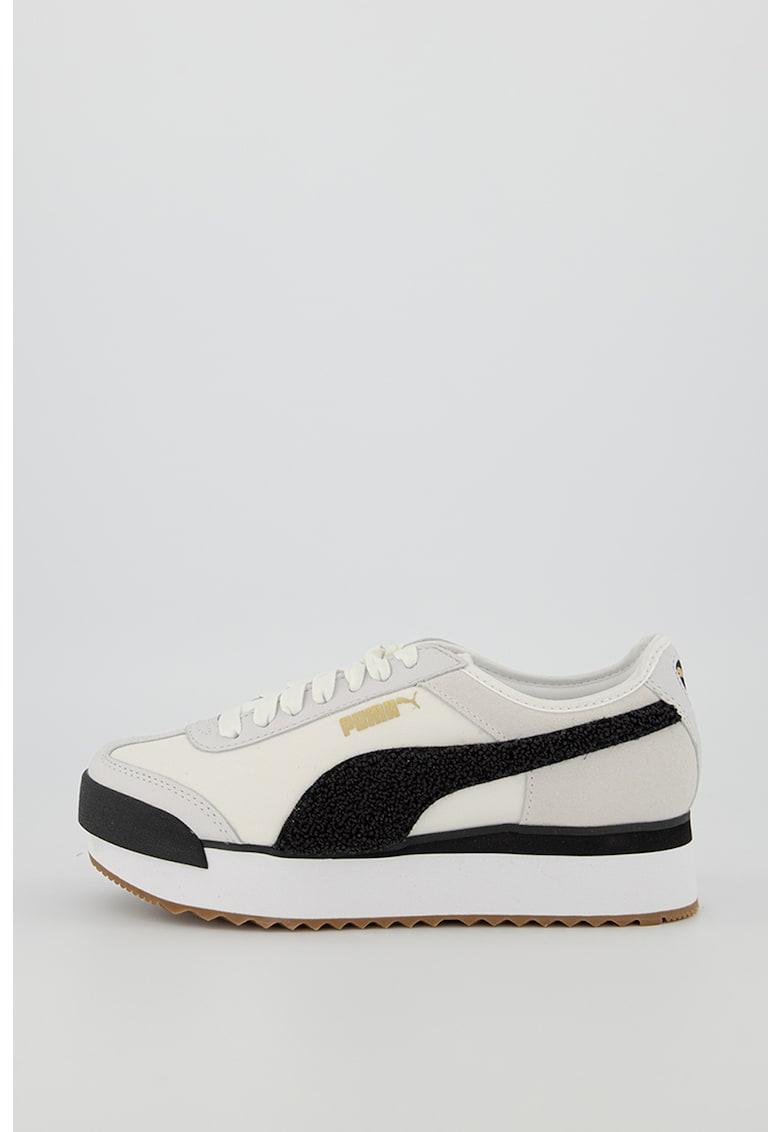 Pantofi sport cu aplicatie din material terry Roma Amor Heritage