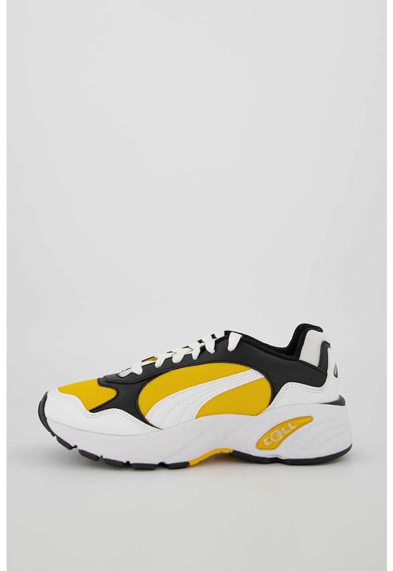 Pantofi sport cu insertii de material textil Cell Viper