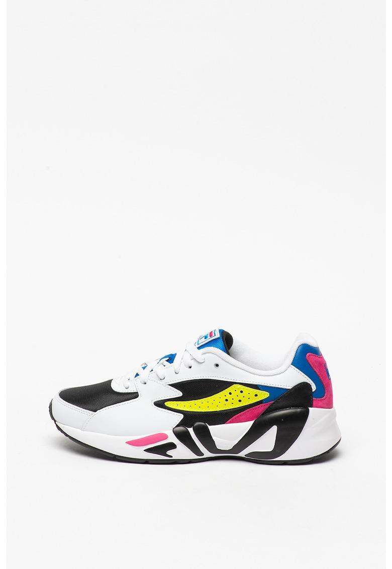 Pantofi sport din piele peliculizata si material textil Mindblower CR