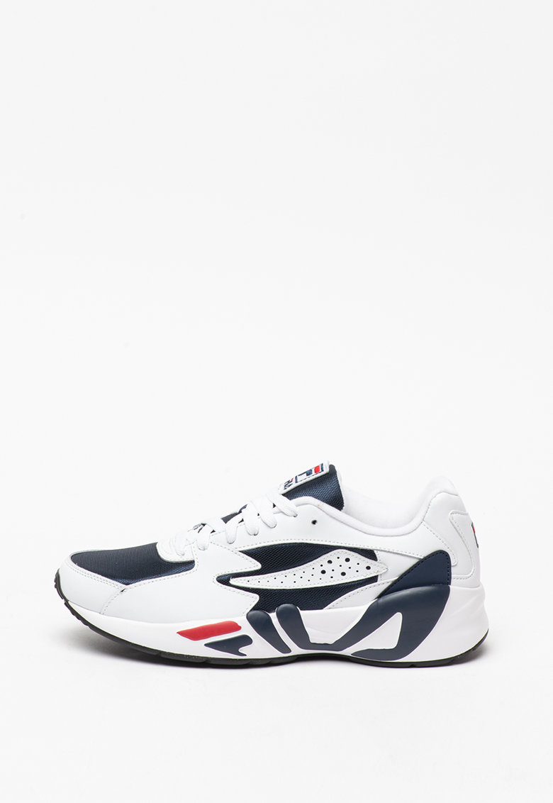 Pantofi sport din piele peliculizata si material textil Mindblower