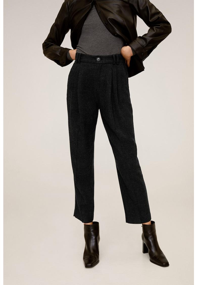 Pantaloni conici Lana imagine fashiondays.ro