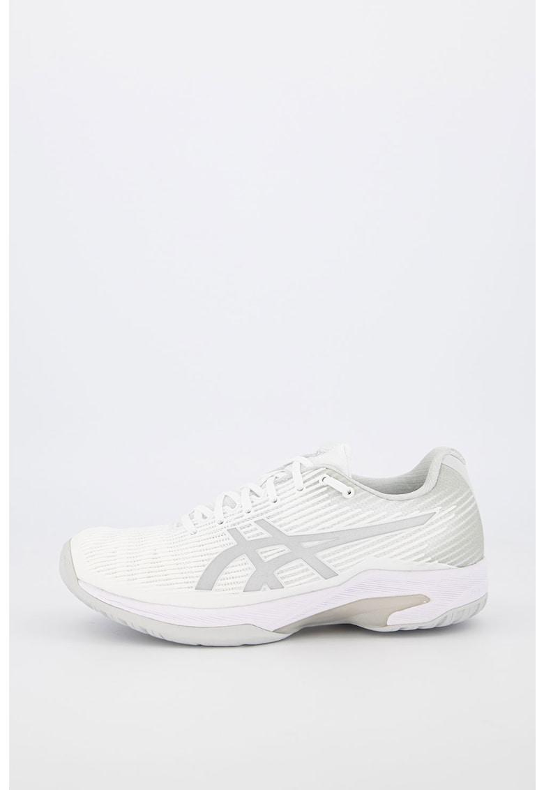 Pantofi cu aspect cauciucat - pentru tenis Solution Speed FF imagine fashiondays.ro Asics