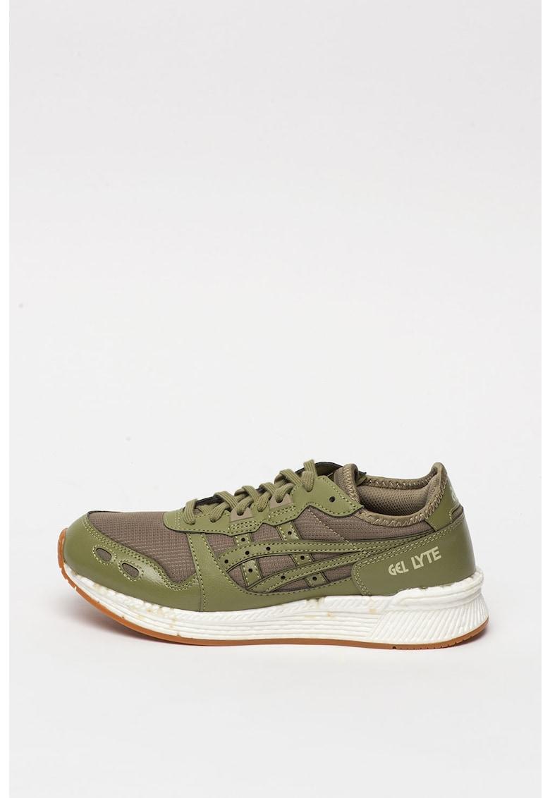 Asics - Pantofi sport unisex din material textil si piele ecologica HyperGEL-LYTE