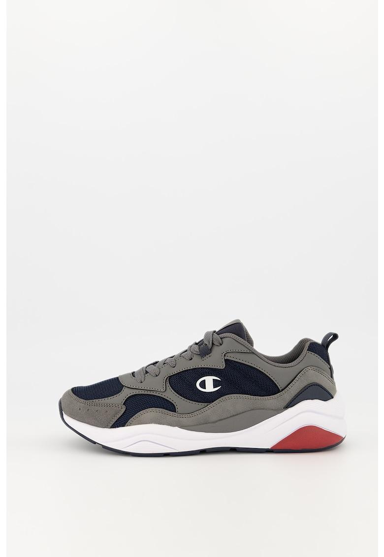 Pantofi sport cu garnituri din piele ecologica si plasa Griff imagine promotie