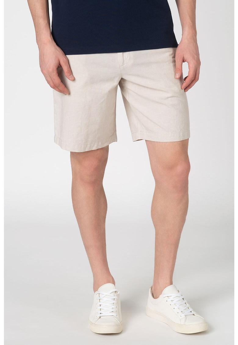 Pantaloni scurti chino din amestec de in Aiden