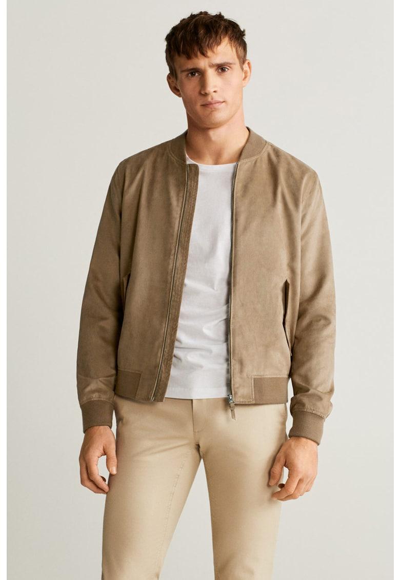 Jacheta din piele intoarsa ecologica Bero