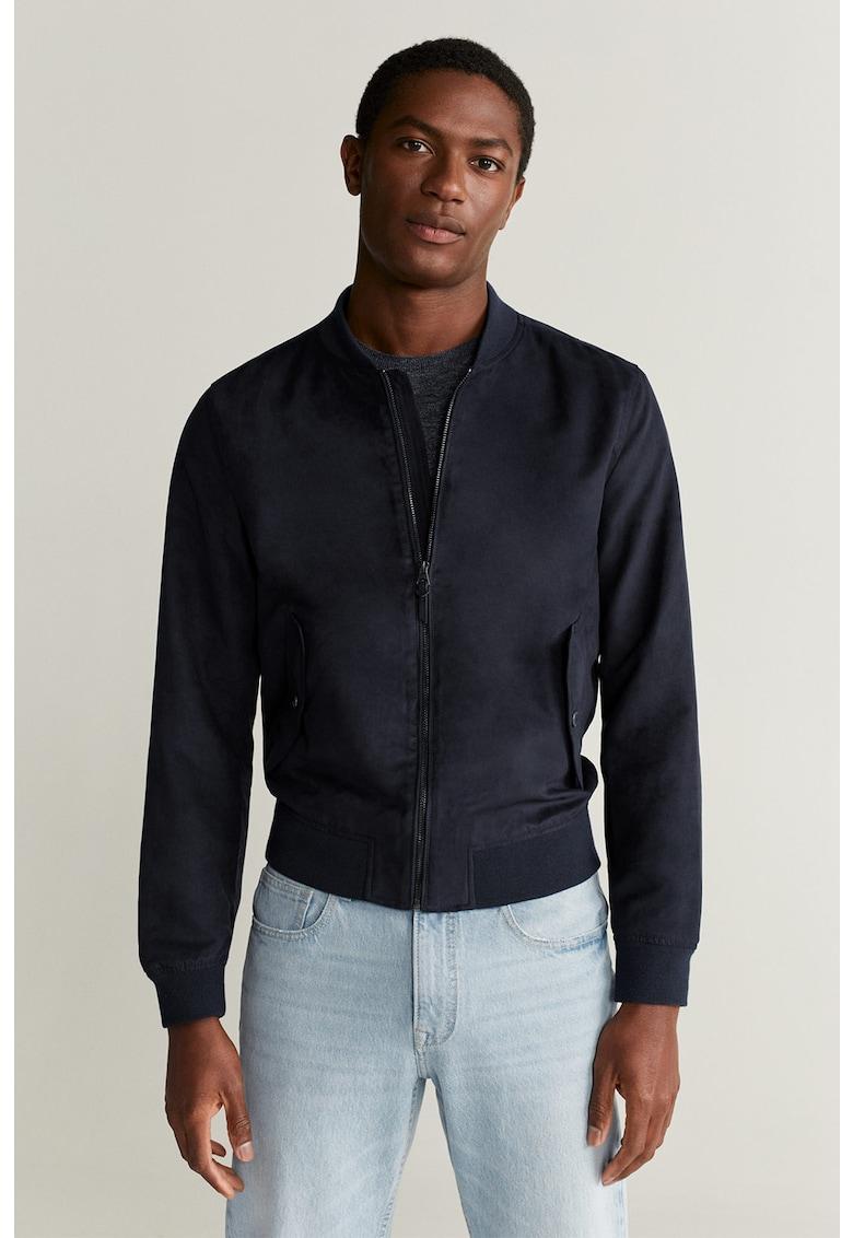 Jacheta din piele intoarsa ecologica Bero imagine