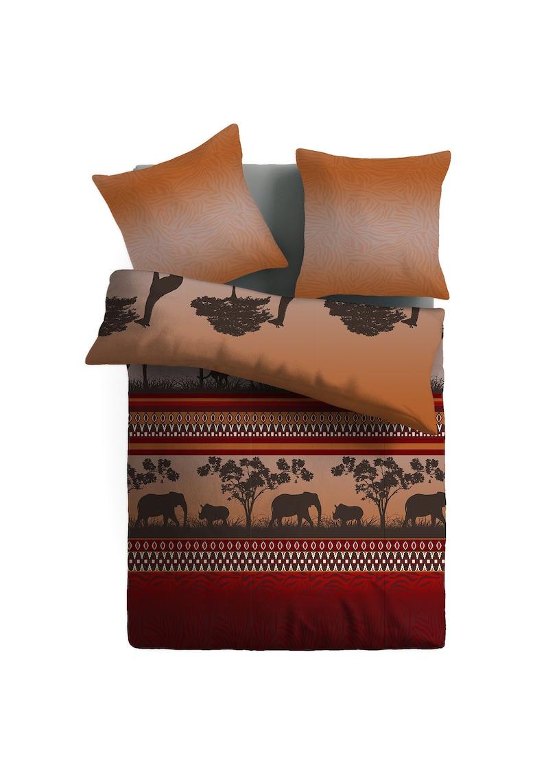 Lenjerie de pat pentru 2 persoane Mary  100% bumbac ranforce de la Dilios